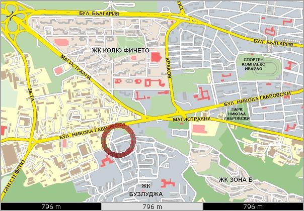 Karta Ofis Veliko Trnovo Trgovski Sistemi Blgariya