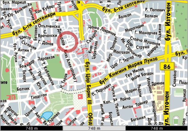 Map Office Plovdiv Retail Systems Bulgaria