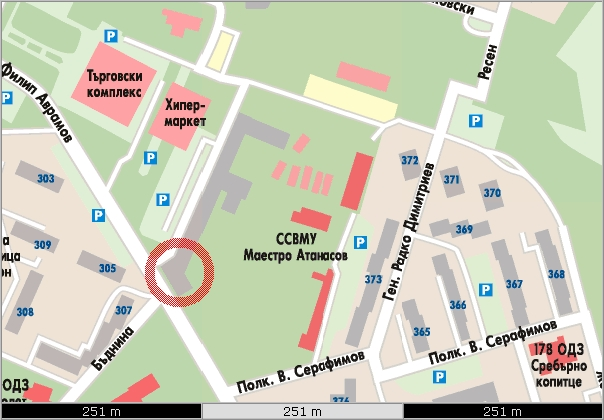 Map Office Sofia Retail Systems Bulgaria